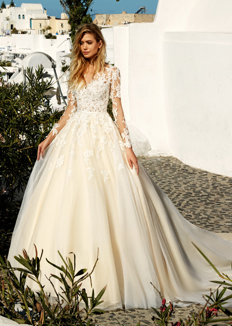 Allen Wedding                                          dress by Eva Santorini