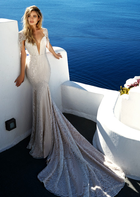 Bler Wedding                                          dress by Eva Lendel Santorini