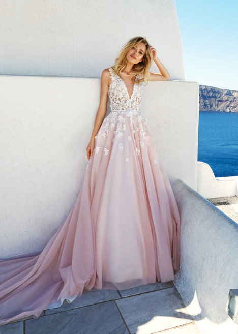 Britany Wedding                                          dress by Eva Santorini