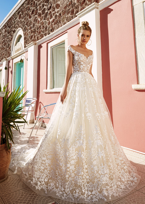 Perry Wedding                                          dress by Eva Lendel Santorini