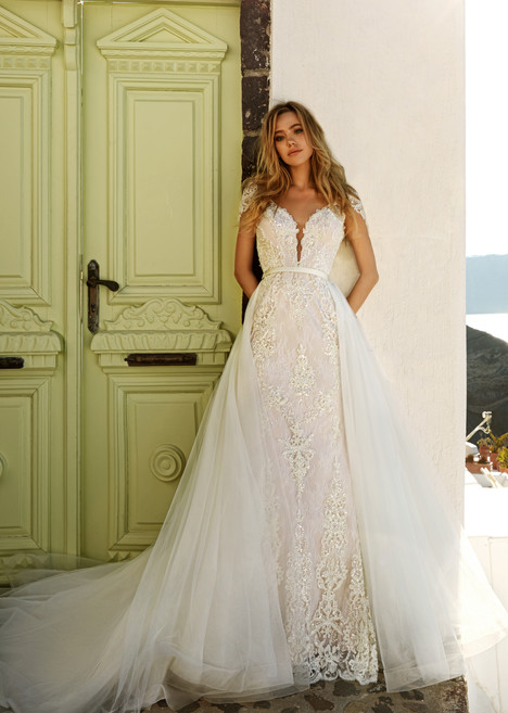 Tina Wedding                                          dress by Eva Lendel Santorini