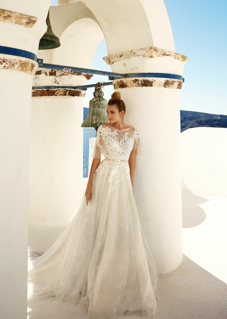 White Wedding                                          dress by Eva Lendel Santorini