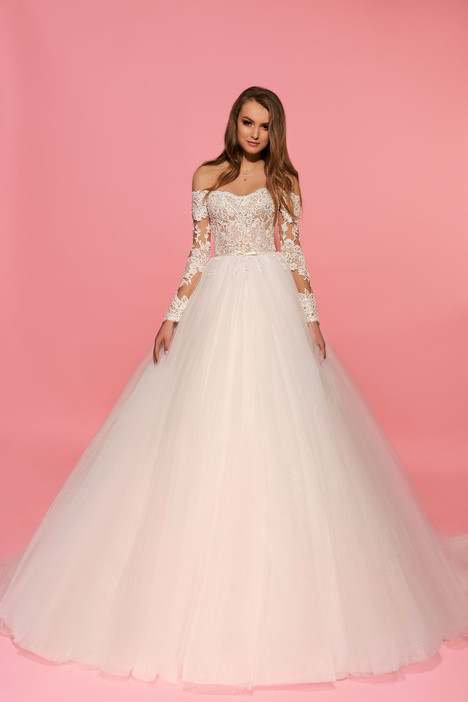 Kennedy Wedding dress by Eva Lendel Pink Inspiration