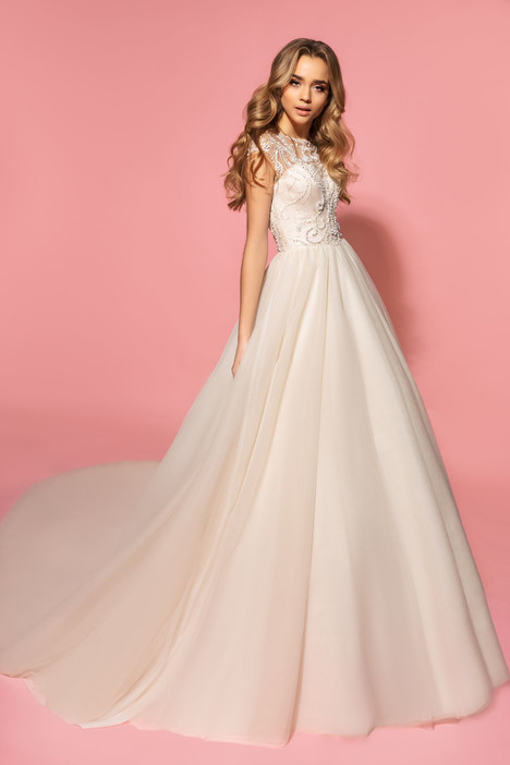 Olivia Wedding                                          dress by Eva Lendel Pink Inspiration