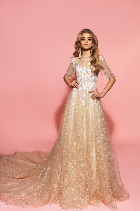 Rebeka Wedding                                          dress by Eva Lendel Pink Inspiration