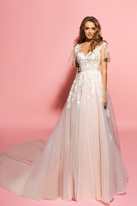 Samanta Wedding                                          dress by Eva Lendel Pink Inspiration