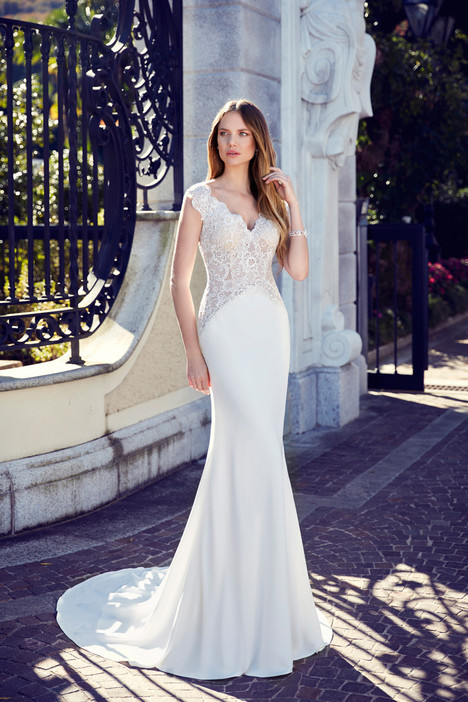 EK1140 Wedding                                          dress by Eddy K