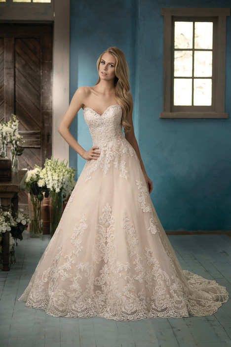 F191056 Wedding                                          dress by Jasmine Collection