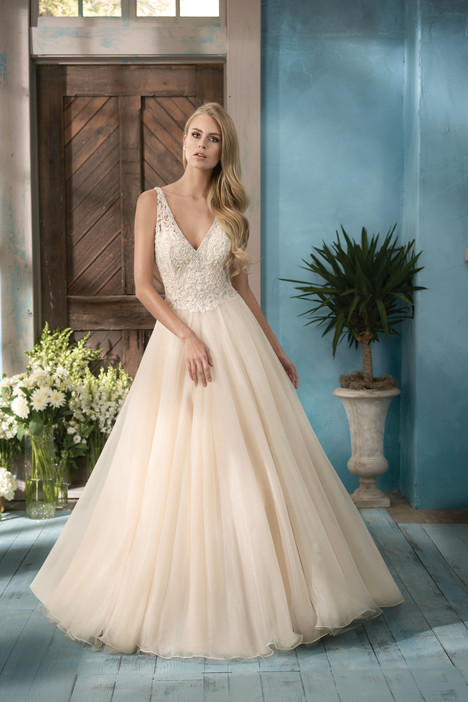 F191057 Wedding                                          dress by Jasmine Collection