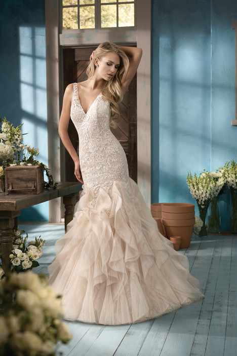 F191059 Wedding                                          dress by Jasmine Collection