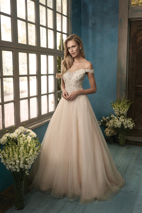 F191060 Wedding                                          dress by Jasmine Collection