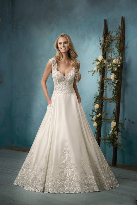 F191061 Wedding                                          dress by Jasmine Collection