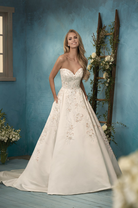 F191065 Wedding                                          dress by Jasmine Collection