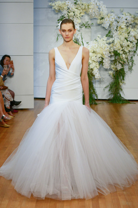 Valerie Wedding                                          dress by Monique Lhuillier