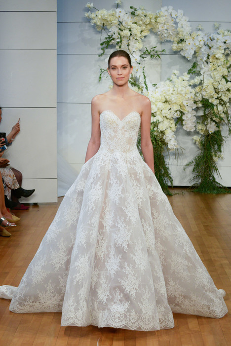 Alexandra Wedding                                          dress by Monique Lhuillier