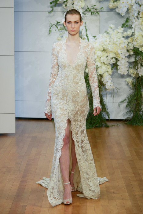 Faith Wedding                                          dress by Monique Lhuillier