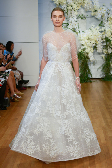Beatrice Wedding                                          dress by Monique Lhuillier