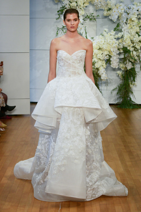 Gardenia Wedding                                          dress by Monique Lhuillier