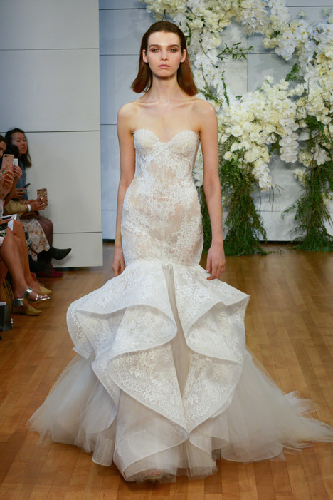 Emanuela Wedding                                          dress by Monique Lhuillier