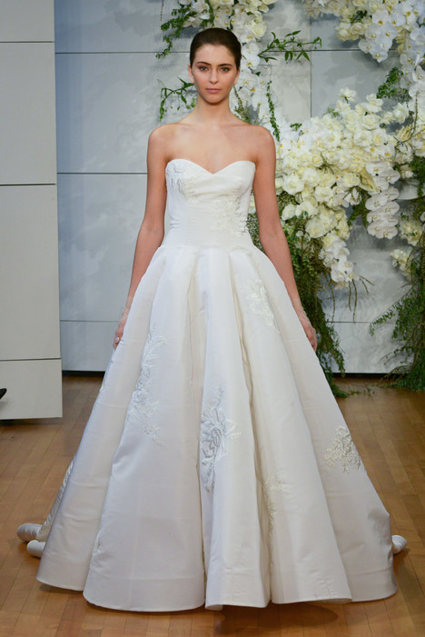 Juliette Wedding                                          dress by Monique Lhuillier