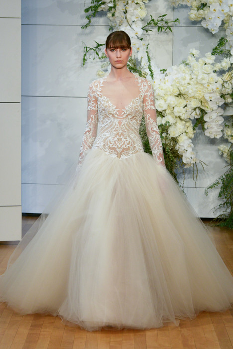 Marguerite Wedding                                          dress by Monique Lhuillier