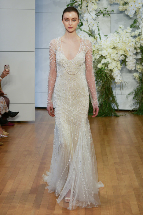 Samantha Wedding                                          dress by Monique Lhuillier