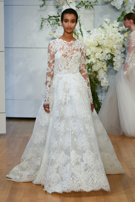 Sistine Wedding                                          dress by Monique Lhuillier