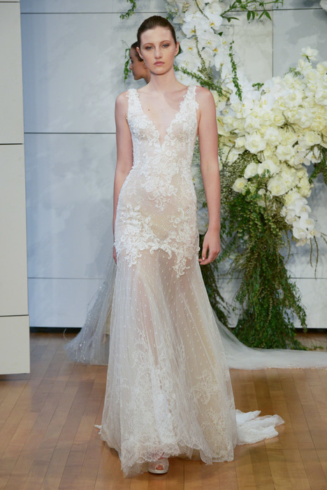 Dylan Wedding                                          dress by Monique Lhuillier