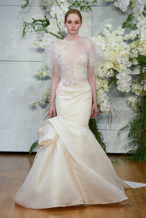 Jamie Wedding                                          dress by Monique Lhuillier