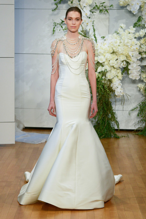 Divine Wedding                                          dress by Monique Lhuillier