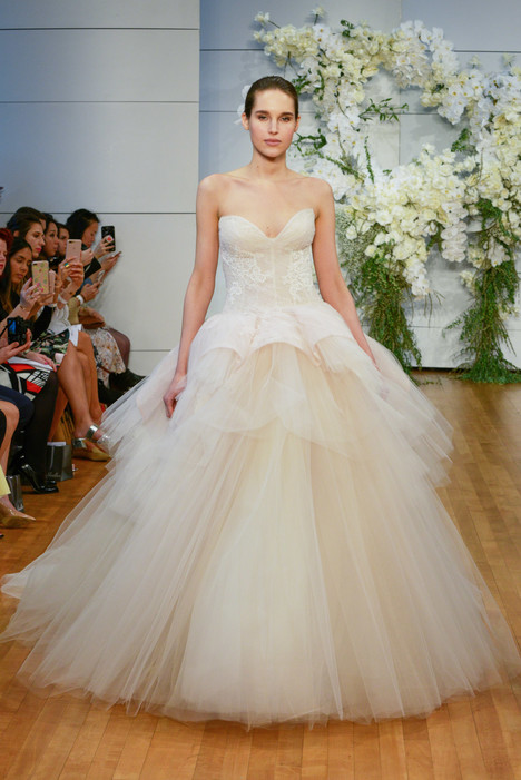 Fleur Wedding                                          dress by Monique Lhuillier