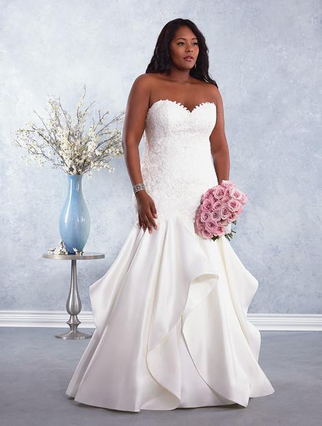 3007W Wedding                                          dress by Alfred Angelo