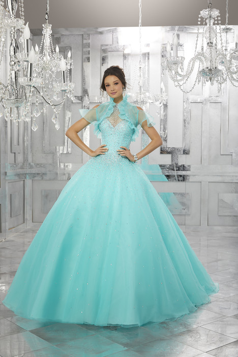 60021 (deep aqua) gown from the 2017 Morilee Valencia collection, as seen on dressfinder.ca