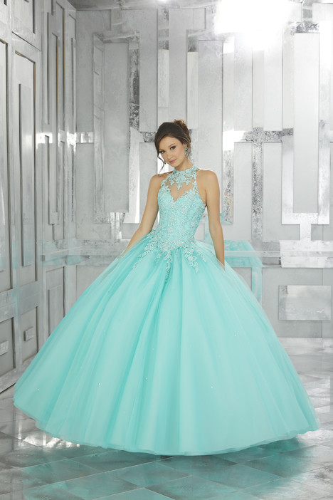 60023 (tropical turquoise) Prom                                             dress by Mori Lee : Valencia