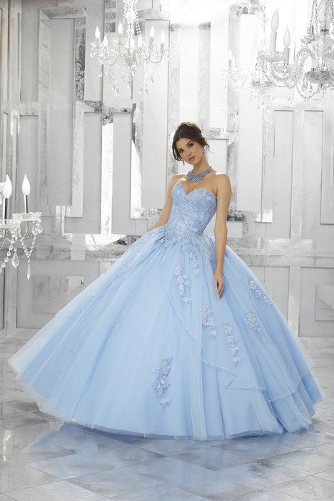60024 (bahama blue) Prom                                             dress by Mori Lee : Valencia