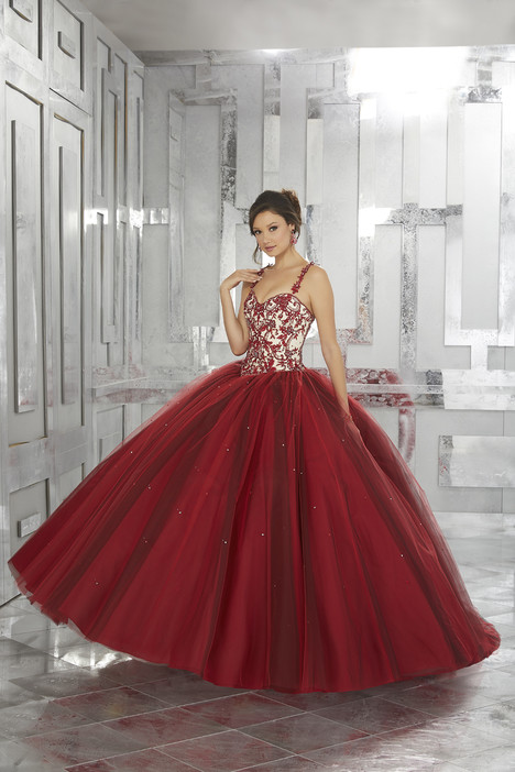 60027 (wine) Prom                                             dress by Mori Lee : Valencia