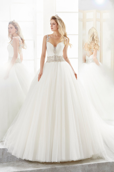 ROAB18811 Wedding                                          dress by Romance