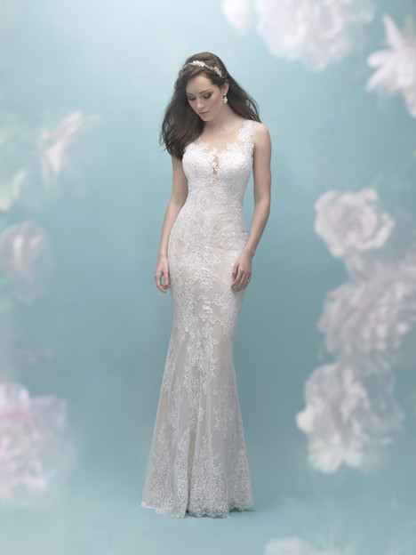 9455 gown from the 2017 Allure Bridals collection, as seen on dressfinder.ca