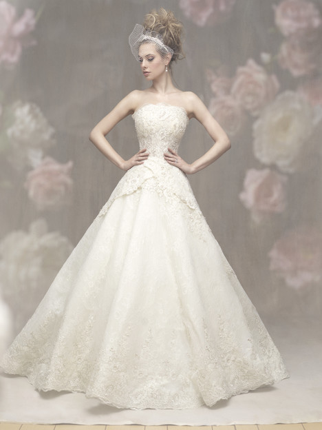 C451 Wedding                                          dress by Allure Bridals : Allure Couture