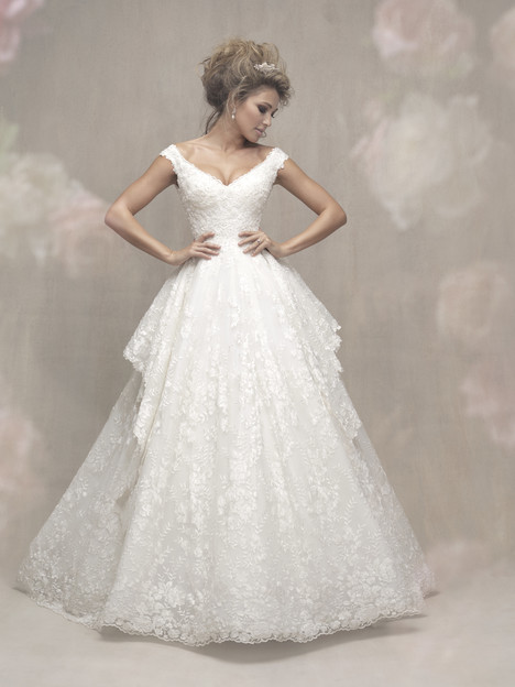 C456 Wedding                                          dress by Allure Couture