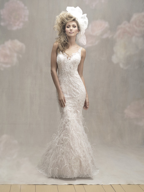 C457 Wedding                                          dress by Allure Bridals : Allure Couture