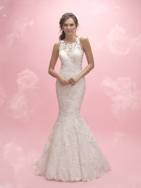 Style 3055 gown from the 2017 Allure Romance collection, as seen on dressfinder.ca