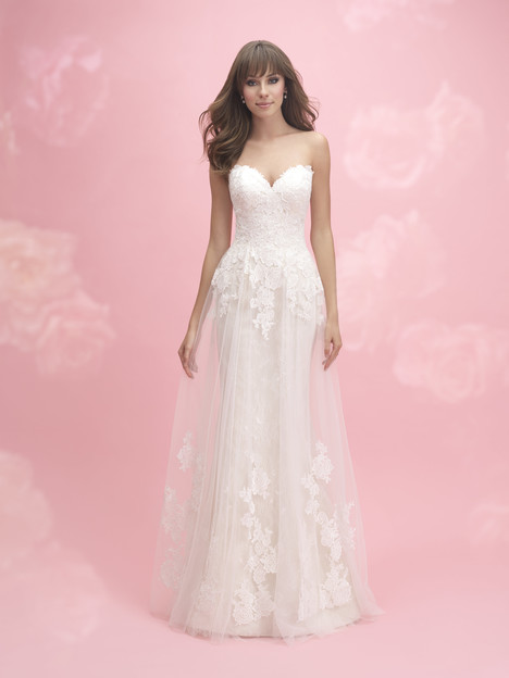 3057 Wedding                                          dress by Allure Bridals : Allure Romance