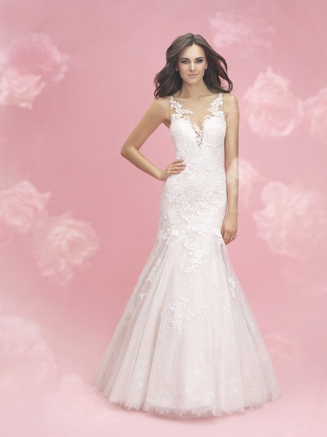 3066 Wedding                                          dress by Allure Bridals : Allure Romance