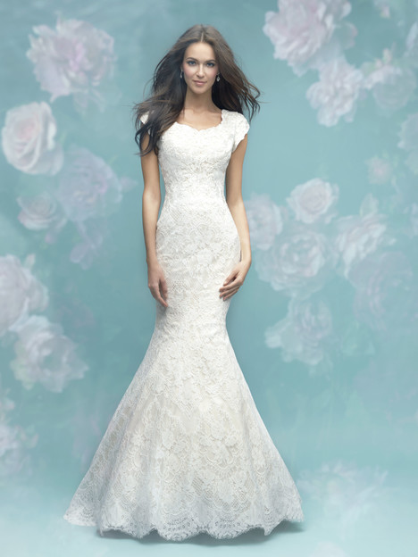 M582 Wedding                                          dress by Allure Bridals: Allure Modest