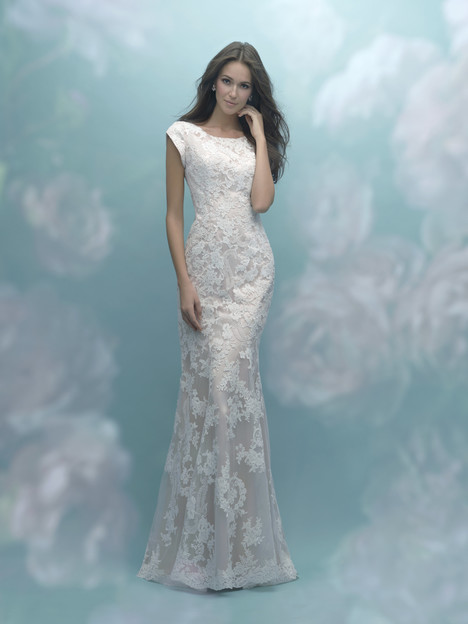 M585 Wedding                                          dress by Allure Bridals: Allure Modest