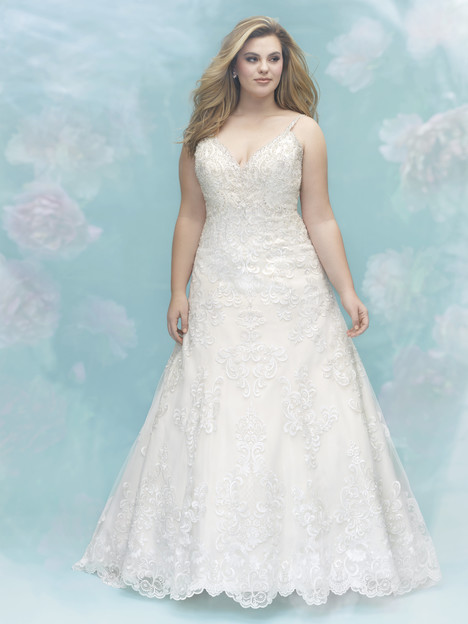 W400 Wedding                                          dress by Allure Women