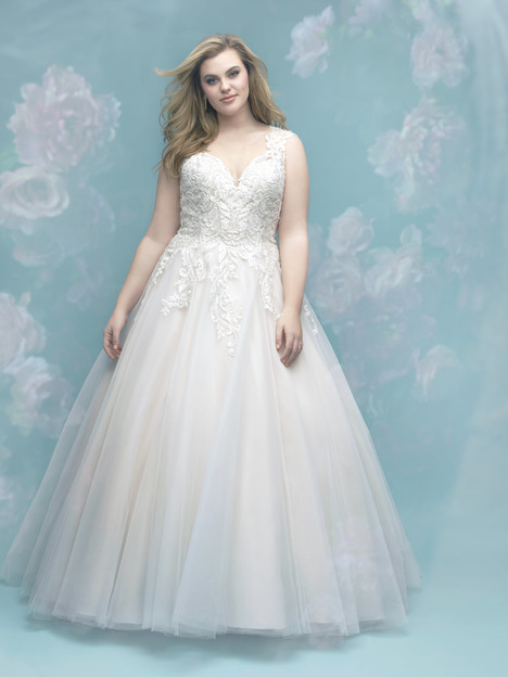 W401 Wedding                                          dress by Allure Women