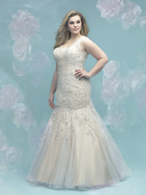 W402 Wedding                                          dress by Allure Women