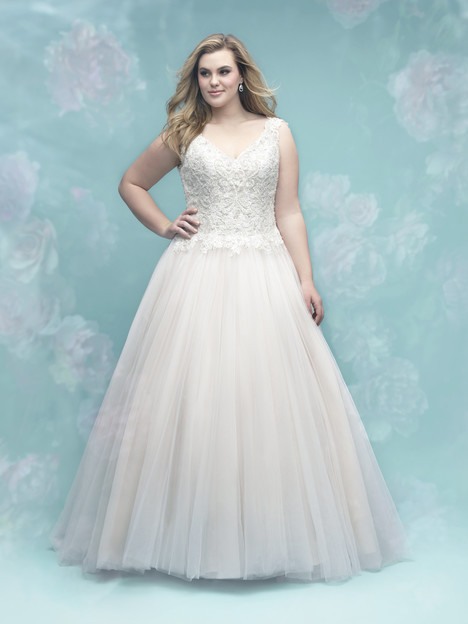 W403 Wedding                                          dress by Allure Women